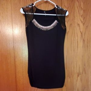 EUC! Maurices black sleeveless top size Small